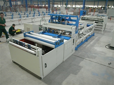 Animal cage welded production line