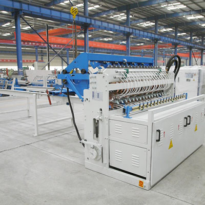 Construction welded fence panel mesh welding machine