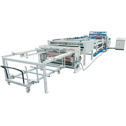 Full automatic mental rebar poultry chicken cage wire mesh making machine