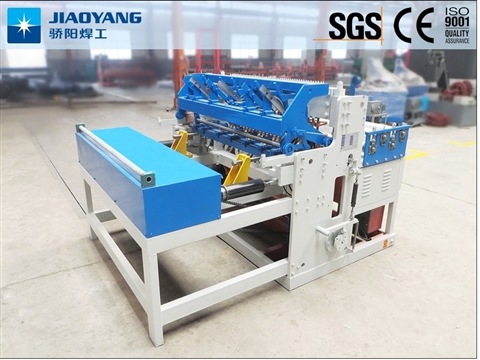 Construction mesh coil machine feature and application