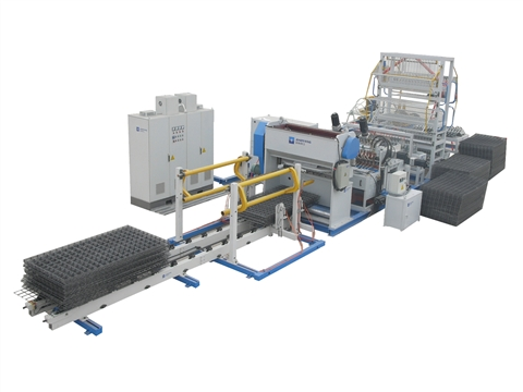 The characteristics of the steel wire mesh welded machine