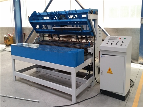 Building wire mesh welding machine