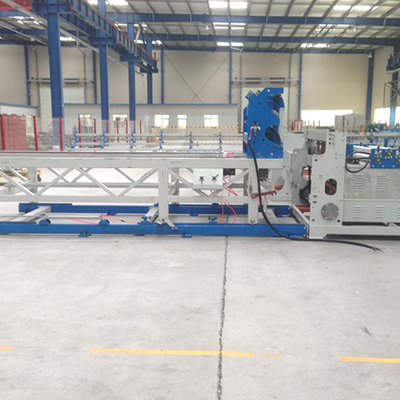 Poultry cage mesh welding machine