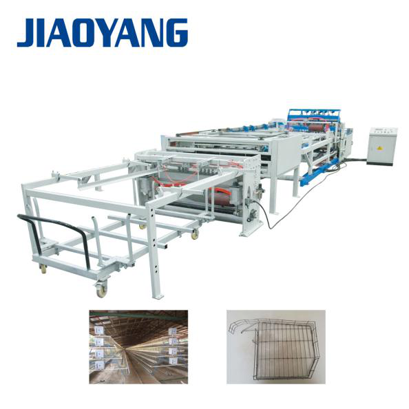 poultry breed cage mesh welding machine production line