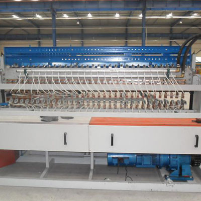 China construction automatic steel welded wire mesh machine factory