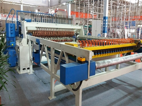 bar wire mesh welding production line