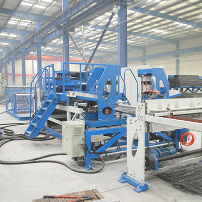 China shelf mesh welding machine manufacturer
