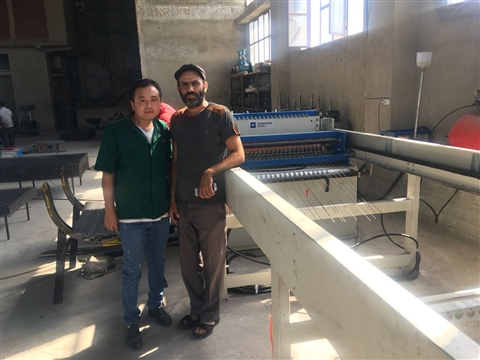 Wire mesh welded machine power indicator is not bright