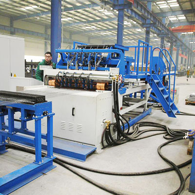 China best shelves mesh welding machine uses