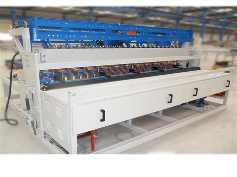 Construction steel mesh welding machine