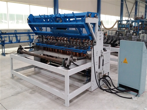 Building steel wire mesh welding machine
