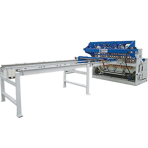 Full automatic galvanized welded security fence wire mesh panel making machine