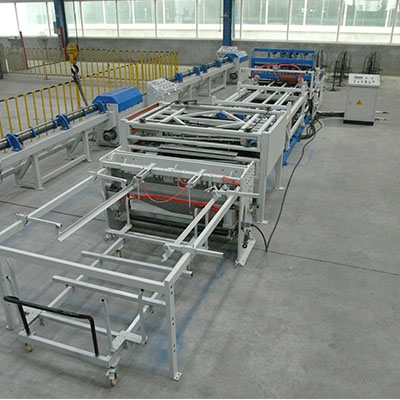 poultry cage mesh production line