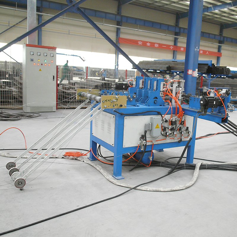 Concrete mesh machine